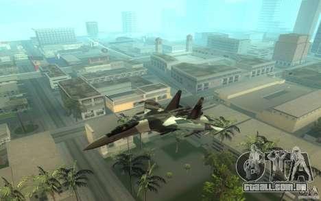 Su-35 BM v 2.0 para GTA San Andreas