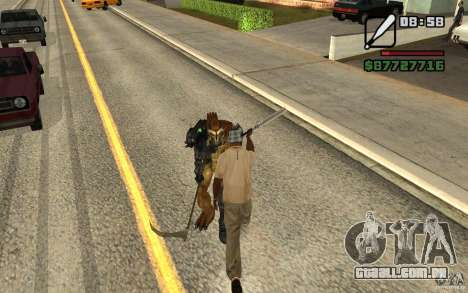 CJ caça V 2.0 para GTA San Andreas