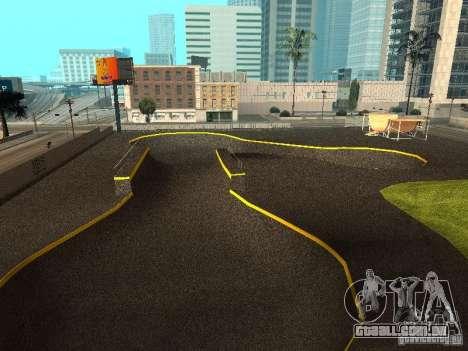 New SkatePark para GTA San Andreas terceira tela