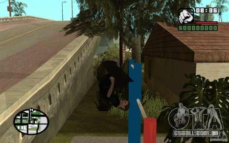 Barras horizontais para GTA San Andreas por diante tela