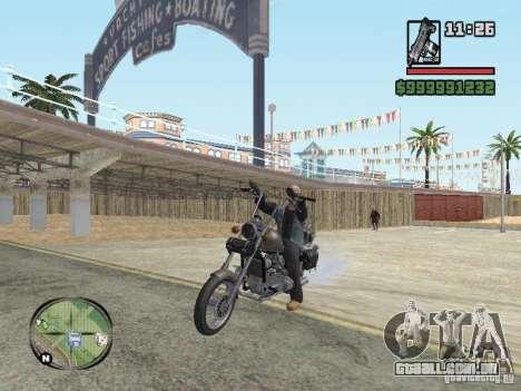 Vagos Biker para GTA San Andreas terceira tela