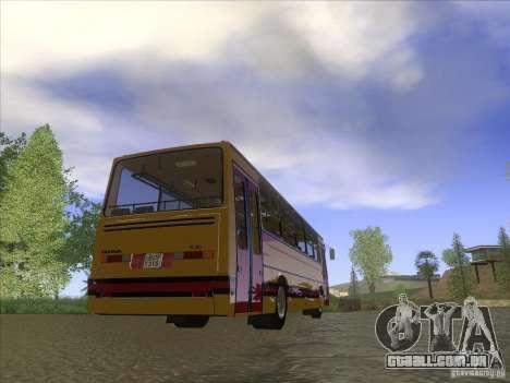 Ikarus 260 32P para GTA San Andreas esquerda vista