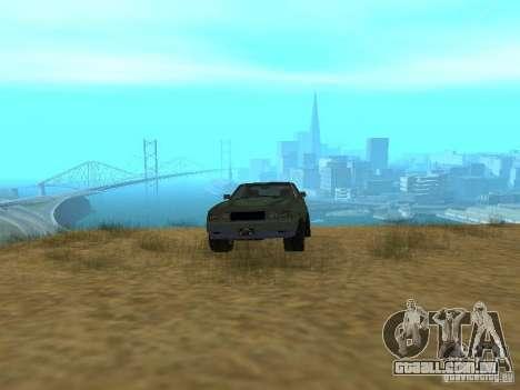 Rusty imperador do GTA 4 para GTA San Andreas vista traseira
