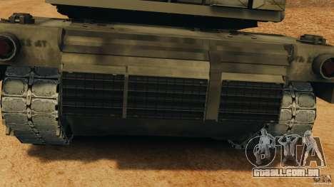 M1A2 Abrams para GTA 4 vista interior