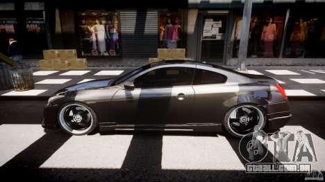 Infiniti G37 Sport 2008 JDM Tune (Beta) para GTA 4 vista interior