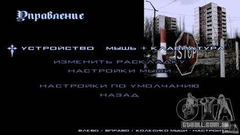 Telas de carregamento Chernobyl para GTA San Andreas quinto tela