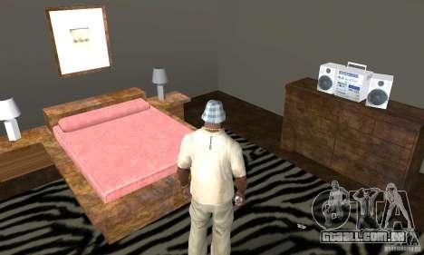 Novos esconderijos interiores para GTA San Andreas décimo tela