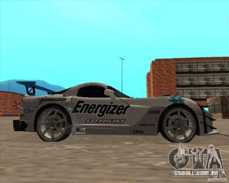 Dodge Viper Energizer para GTA San Andreas vista direita