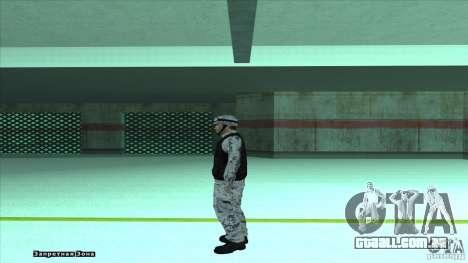 Army Soldier v2 para GTA San Andreas terceira tela