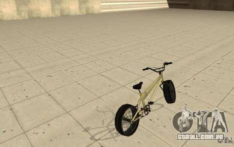 BMX Long para GTA San Andreas traseira esquerda vista