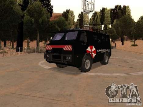 AM 7.0 Umbrella Corporation para GTA San Andreas