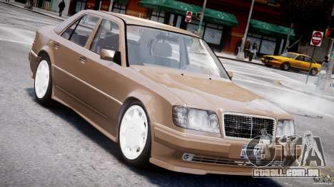 Mercedes-Benz W124 E500 1995 para GTA 4 interior