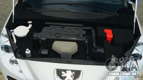 Peugeot 308 GTi 2011 v1.1 para GTA 4 vista superior