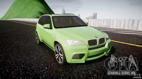 BMW X5 M-Power para GTA 4 vista de volta