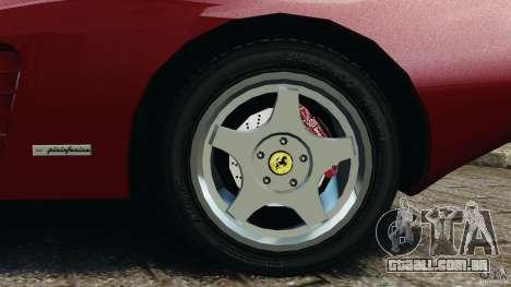 Ferrari Testarossa Spider custom v1.0 para GTA 4 vista lateral