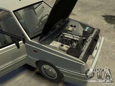 FSO Polonez para GTA 4 vista interior