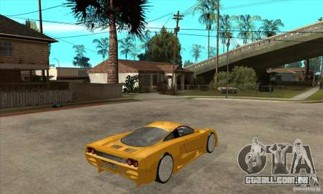 Saleen S7 Twin Turbo para GTA San Andreas vista direita