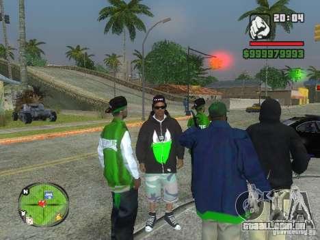 NEW Ryder para GTA San Andreas terceira tela