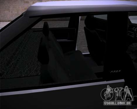 Lada Samara 2113 para GTA San Andreas vista interior