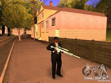 TeK Weapon Pack para GTA San Andreas por diante tela