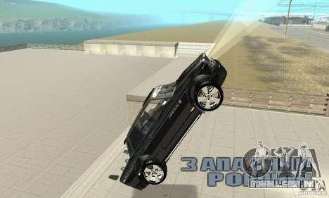 Tunning de fantasia arte VAZ 2106 para GTA San Andreas vista inferior
