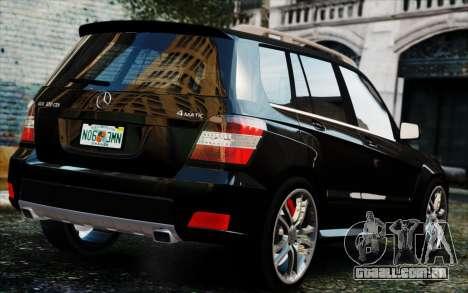 Mercedes-Benz GLK 320 CDI para GTA 4 esquerda vista