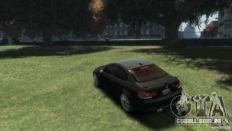 BMW M3 para GTA 4 esquerda vista