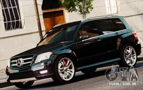 Mercedes-Benz GLK 320 CDI para GTA 4 traseira esquerda vista