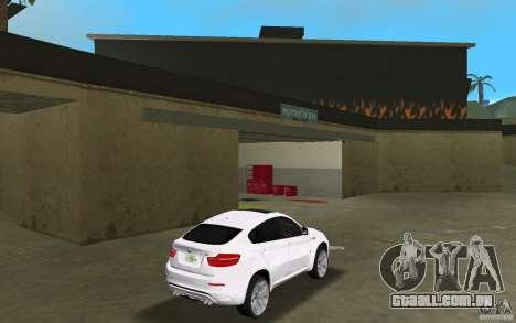 BMW X6M 2010 para GTA Vice City vista direita