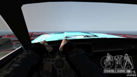Afterburner Flatout UC para GTA 4 vista interior