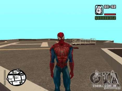 Spider Man From Movie para GTA San Andreas por diante tela
