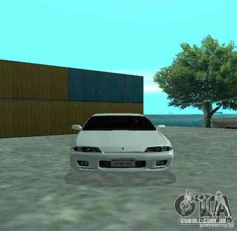 Nissan Skyline R32 GT-R para GTA San Andreas esquerda vista