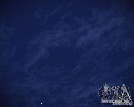 Real Clouds HD para GTA San Andreas oitavo tela