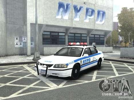 Chevrolet Impala NYCPD POLICE 2003 para GTA 4