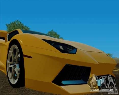 ENB v 1.01 para PC para GTA San Andreas terceira tela