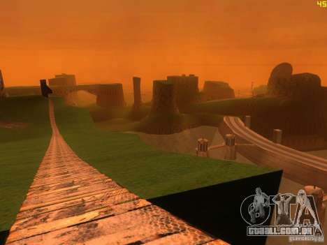 Without the desert para GTA San Andreas quinto tela