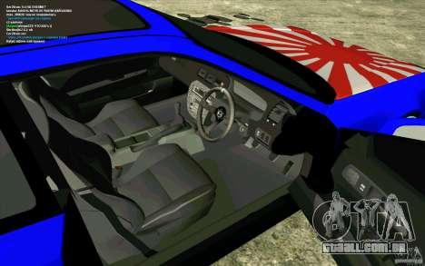 Honda Prelude para GTA San Andreas vista traseira