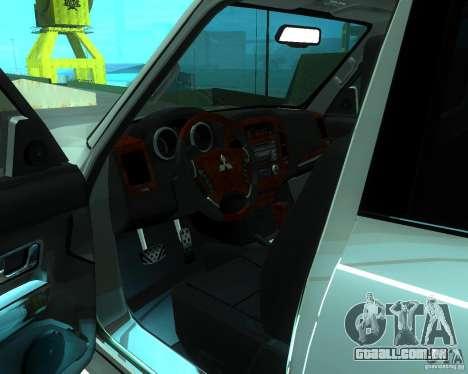Mitsubishi Pajero STR I para GTA San Andreas vista direita