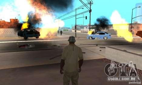 Hot adrenaline effects v1.0 para GTA San Andreas oitavo tela