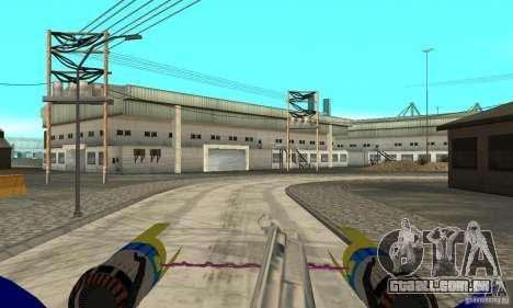 Star Wars Racer para GTA San Andreas vista direita