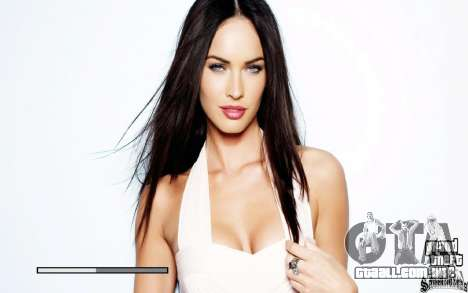 Telas de boot (Megan Fox) HD para GTA San Andreas terceira tela