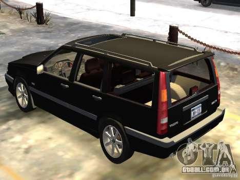 Volvo 850 R 1996 Rims 1 para GTA 4 vista direita
