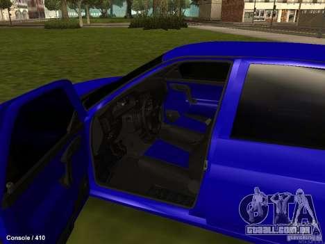 VAZ-2112 para vista lateral GTA San Andreas