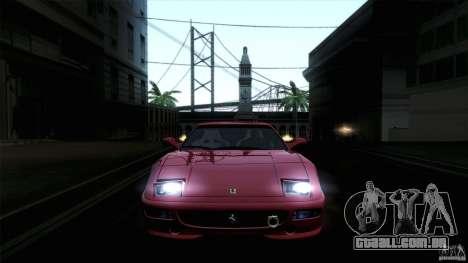 Ferrari F355 Challenge 1995 para GTA San Andreas esquerda vista