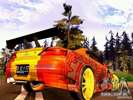 Nissan Silvia S15 Juiced2 HIN para GTA San Andreas vista traseira