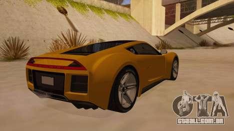 Saleen S5S Raptor 2010 para GTA San Andreas vista direita