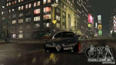 Alfa Romeo Brera Italia Independent 2009 v1.1 para GTA 4 vista de volta