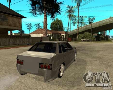 VAZ-2199 Lûbera tuning para GTA San Andreas traseira esquerda vista
