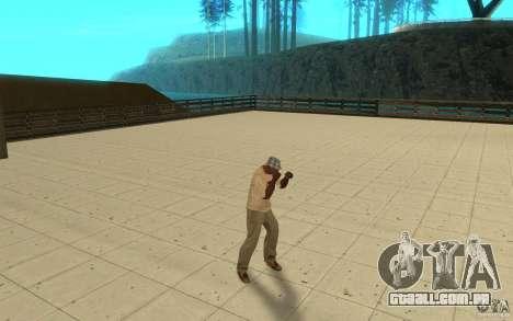 Diferentes estilos de para GTA San Andreas segunda tela