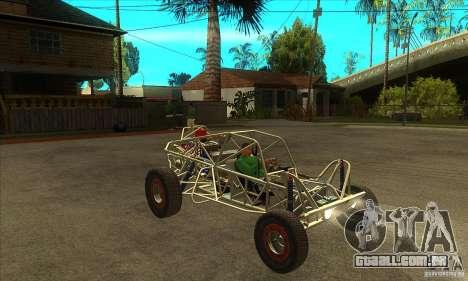 Dirt 3 Stadium Buggy para GTA San Andreas vista traseira